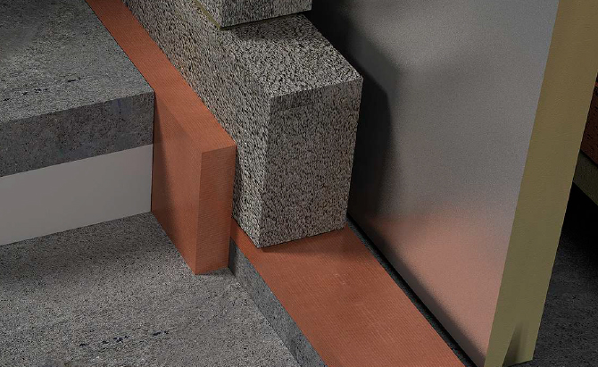 foundation insulation and thermal break