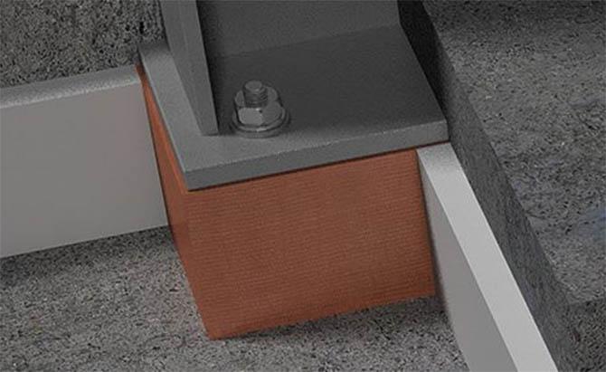 Column Base Thermal Bridging Solution - Armatherm™